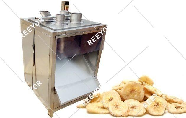 Banana Chips Cutting Machine/ Fruit Slice Vegetable Cutting Machine