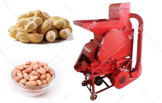 500 kg/h Peanut Shelling Machine