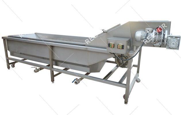 Industrial Bubble Type Fruit Vegetable Washing Machine