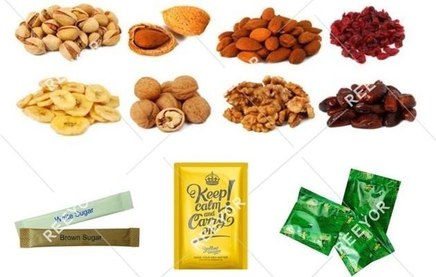 Chin Chin Packaging Machine Packing Samples