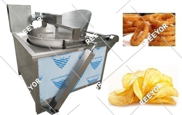 food deep frying machine