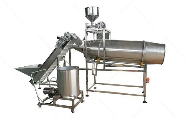 Full Automatic Snack Potato Chips Seasoning Machine