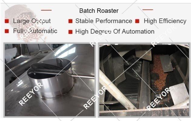 Batch Groundnut Roasting Machine Price