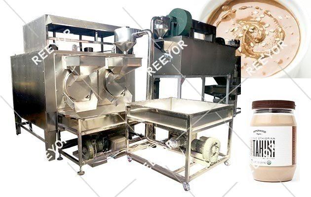 Small Scale Tahini Production Line