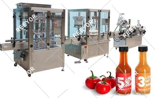 Hot Sauce Filling Line