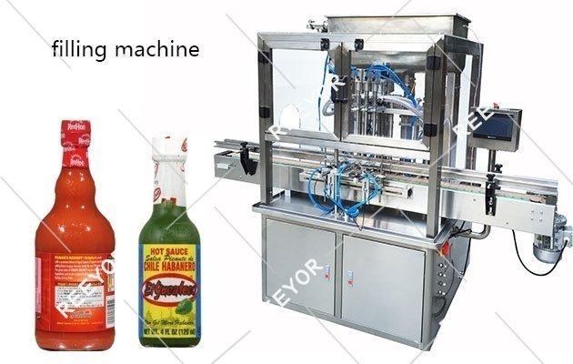 Hot Sauce Filling Machine